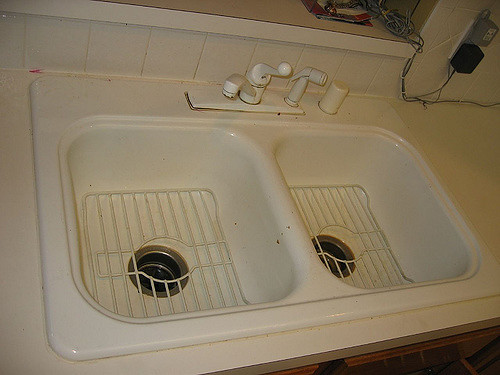 ugly old sinks